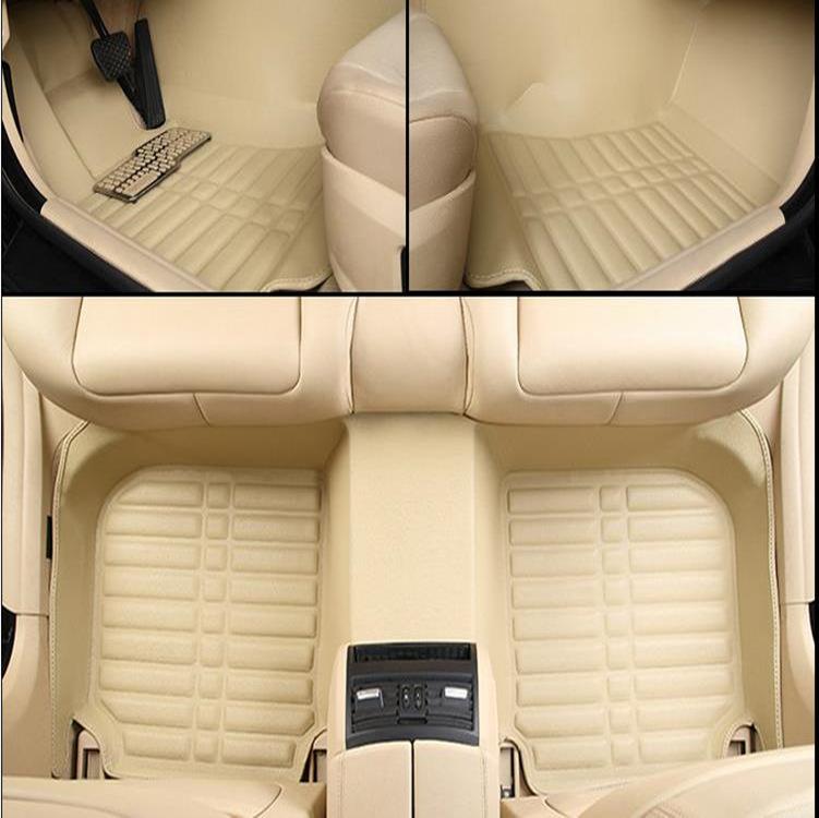 Thảm da Lót toàn diện cho xe hơi , Thiết kế sang Trọng .