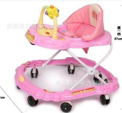 Xe tập đi cho trẻ màu xanh và hồng AT