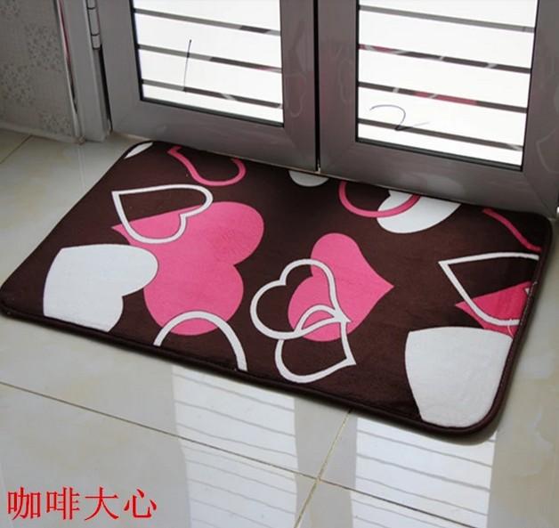 Thảm vải chùi chân chống trượt dành cho phòng ngủ .