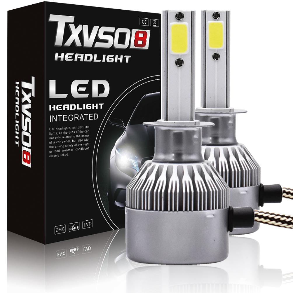 Đèn pha LED cho xe ô tô siêu sáng - H7S2 mới