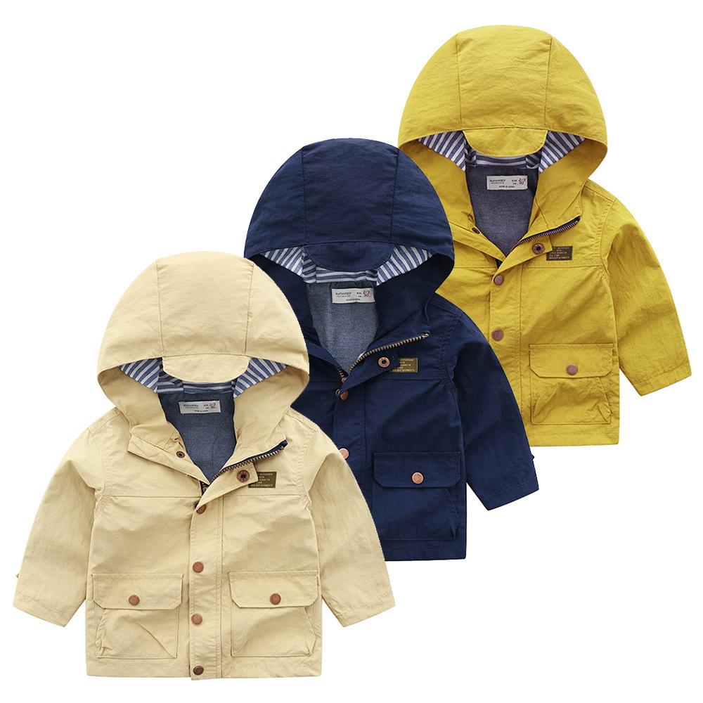 Katoofely Áo khoác trẻ em Mới mùa thu thương mại nước ngoài thương hiệu gốc quần áo trẻ em trai trẻ