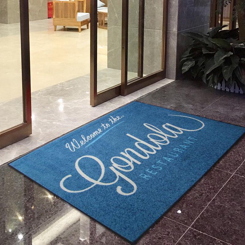 Thảm lót đệm chân ngay Sảnh khách sạn trung tâm mua sắm