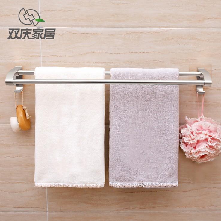 Kệ treo khăn tắm inox đa chức năng cho phòng Tắm .