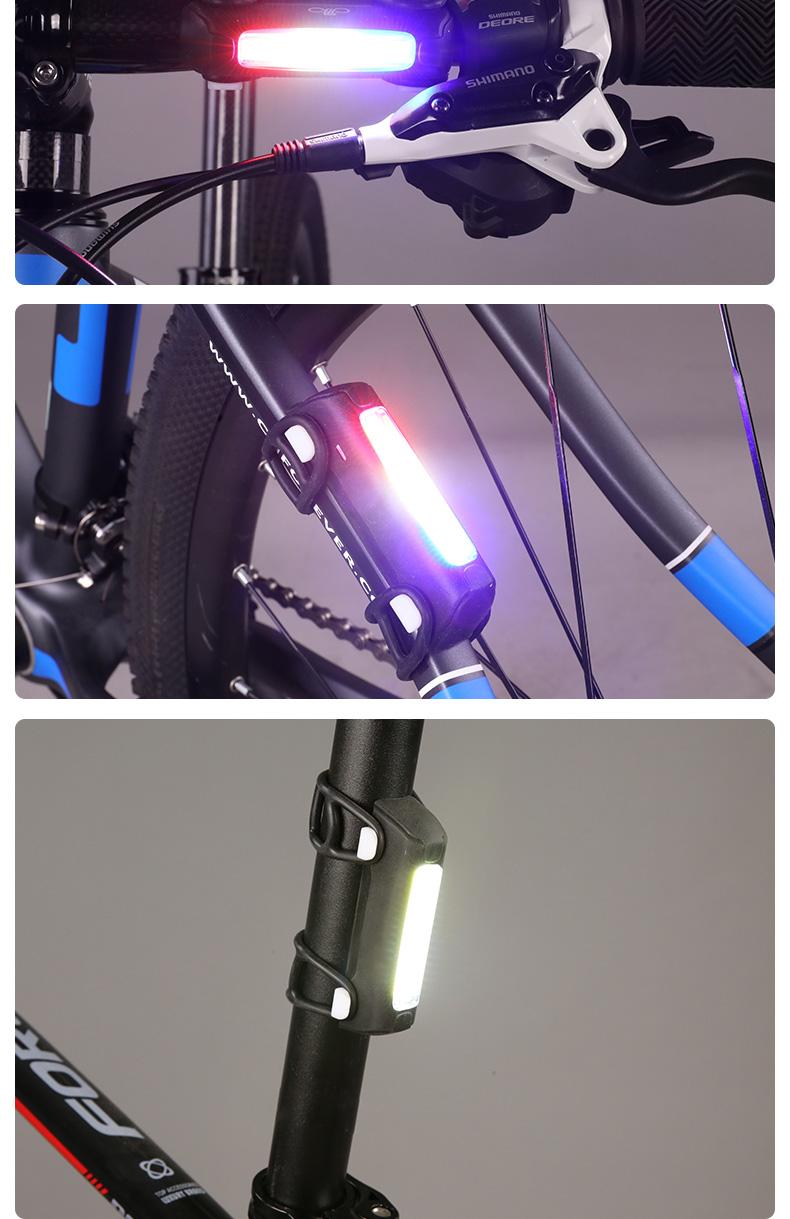 Đèn Gắn phía sau cho xe đạp leo núi , Thương hiệu : FOREVER.