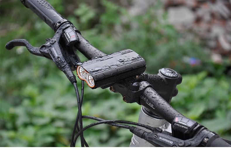 Đèn pha Gắn phía trước cho xe đạp leo núi , Thương hiệu : FOREVER.