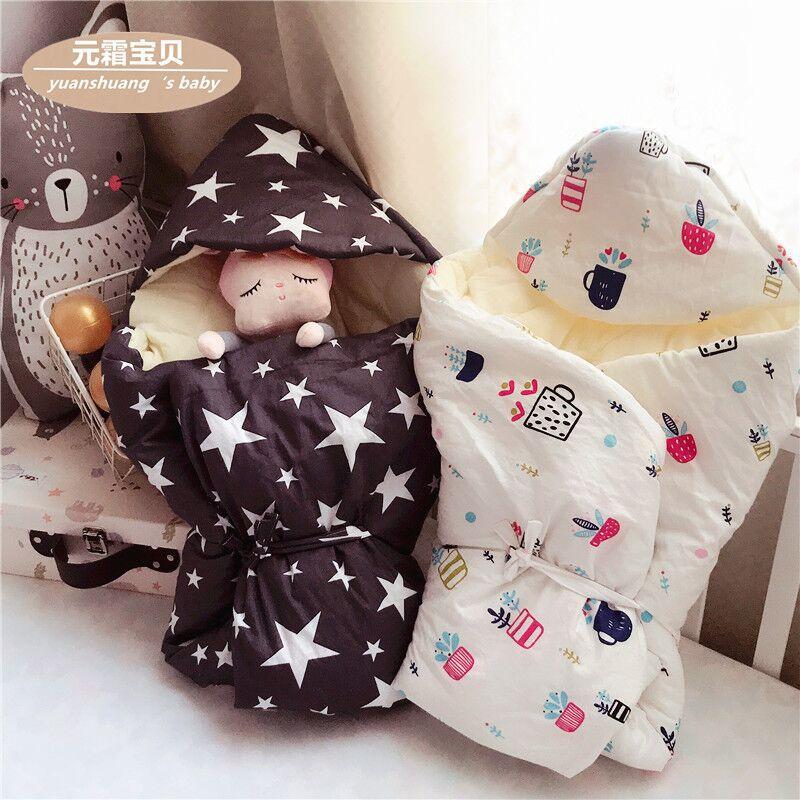 Khăn Quấn , kiểu Túi ngủ , giữ ấm cho trẻ sơ sinh.