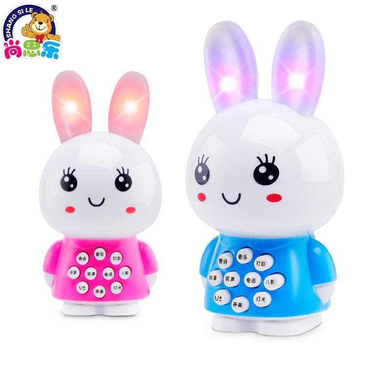 SHANGSILE - Máy học ngoại ngữ hình thỏ cho Trẻ .