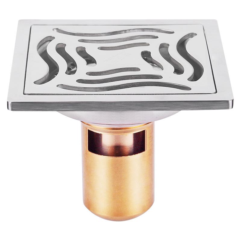 bộ Niêm phong cống thoát nước nhà tắm bằng thép không gỉ .