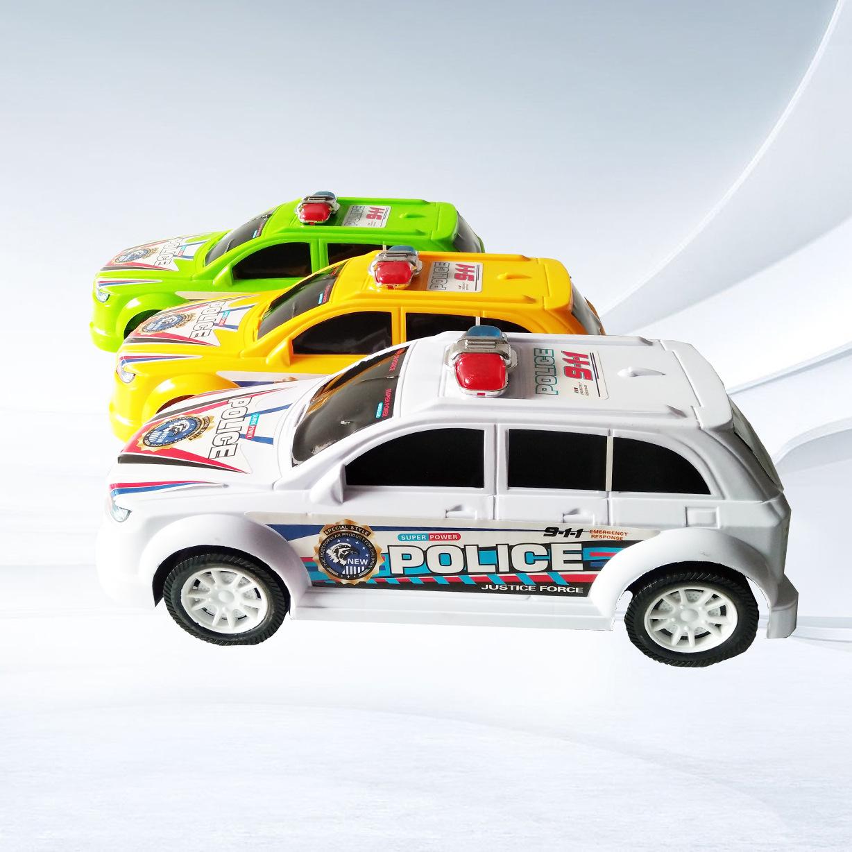 Mô hình xe Nhà máy bán hàng trực tiếp mô phỏng mới xe off-road mô hình đồ chơi trẻ em xe cảnh sát nă
