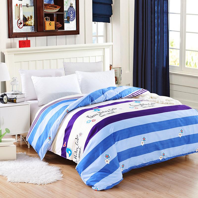 FEIERMEI drap mền Bộ đồ giường chà nhám in đơn đôi chăn nhà sản xuất bán buôn một thế hệ chế biến qu