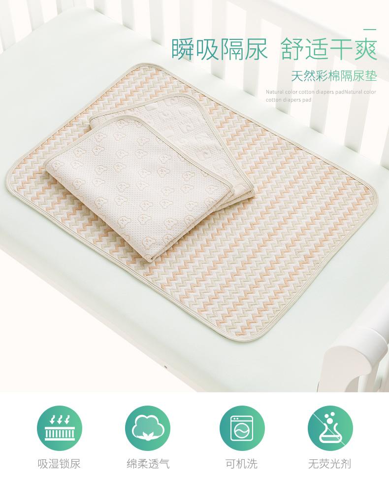 Tấm lót chống thấm con bé sơ sinh và rửa đường niệu Mats thấm nước chăm sóc nhu thở chăn khổng lồ.