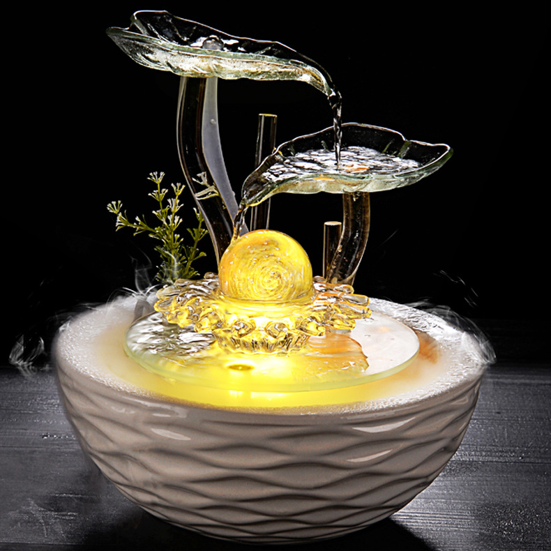 SHUIYI Đồ mỹ nghệ  kiểu Đài phun nước, bằng gốm may mắn