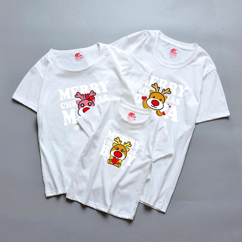 Thời Trang cho cả Gia đình :  Áo thun cotton in hình ngộ nghĩnh .