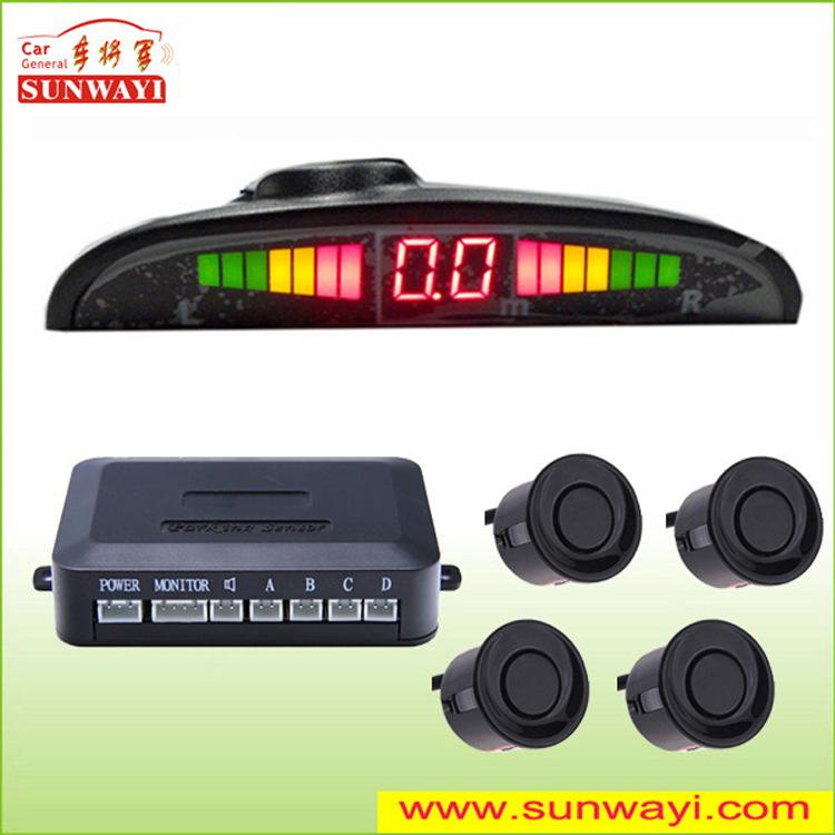 Máy Radar cảm biến đảo ngược ,hệ thống báo động khi đỗ xe Ôtô.