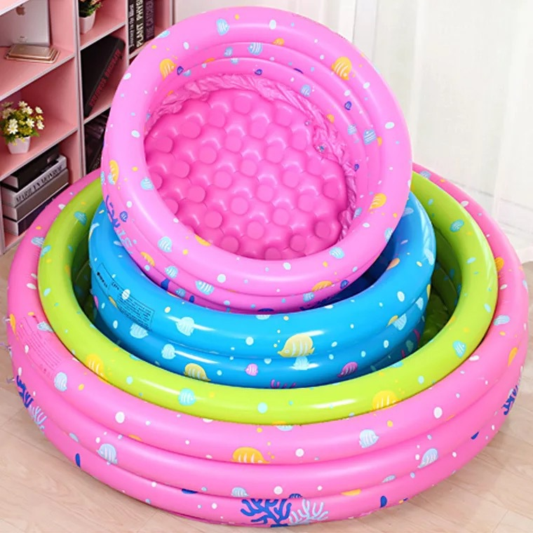 INTIME bể bơi trẻ sơ sinh Bán buôn bể bơi trẻ em Yingtai bể bơi trẻ em ba vòng tròn chơi cát chơi bó