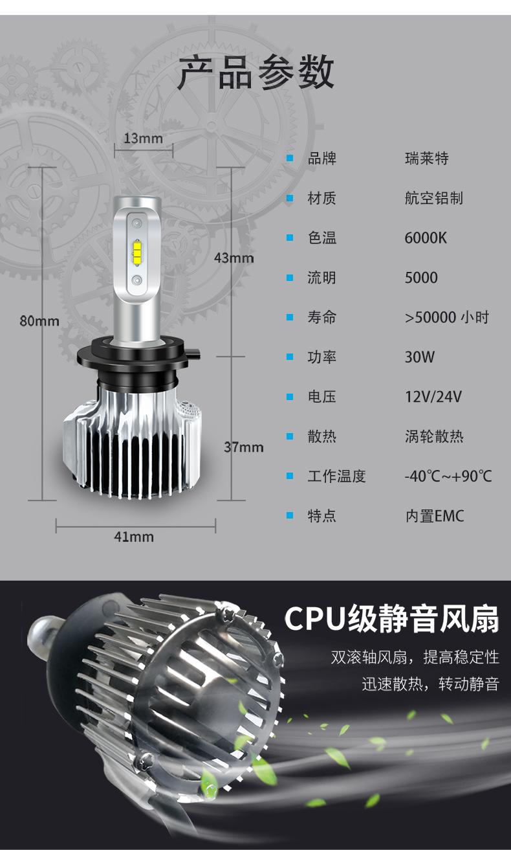 Bóng Đèn pha led dành cho xe hơi H4H7H1 siêu sáng