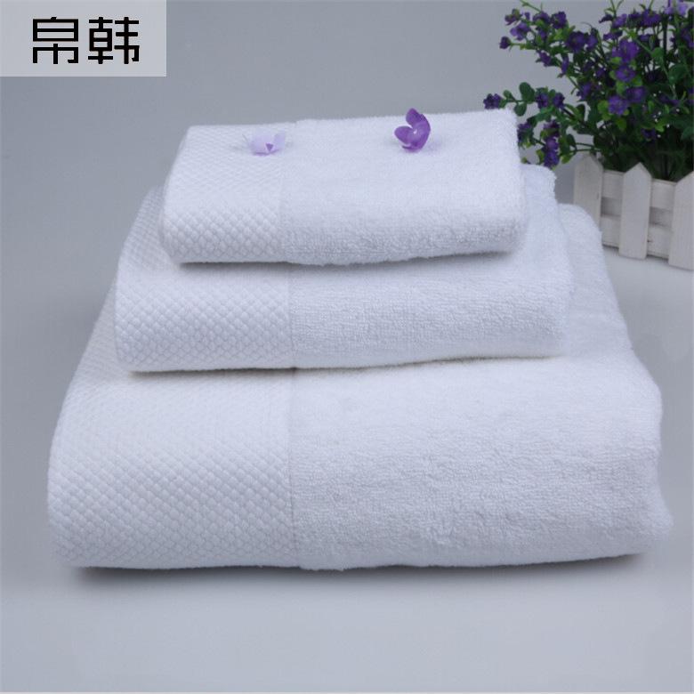 BOHAN Khăn tắm trắng của khách sạn dày lên để tăng độ mềm mịn và thoải mái cho bộ quần áo cotton năm