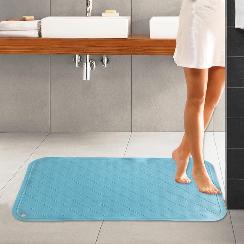 Thảm Lót sàn silicone chống trơn Trượt , dùng cho Phòng tắm silicone.