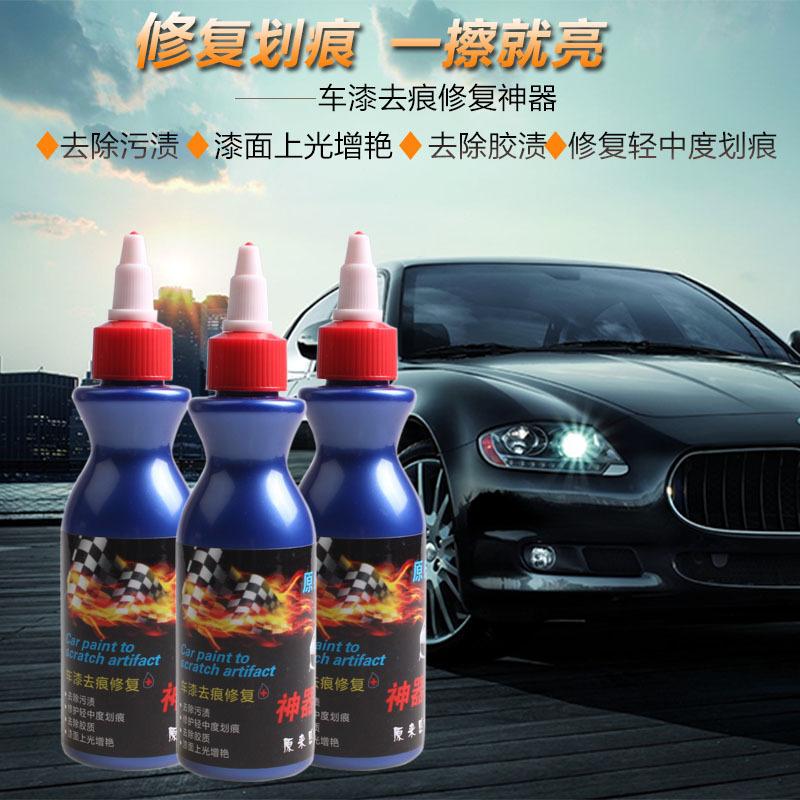 Nước đánh bóng và loại bỏ các vết trầy xước nhẹ trên bề mặt sơn cho xe ô tô  .