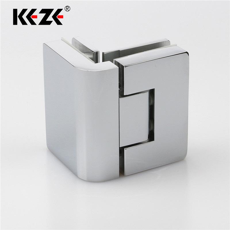phụ kiện phòng tắm : bản lề Tự đóng thép không gỉ dùng cho cửa kính .