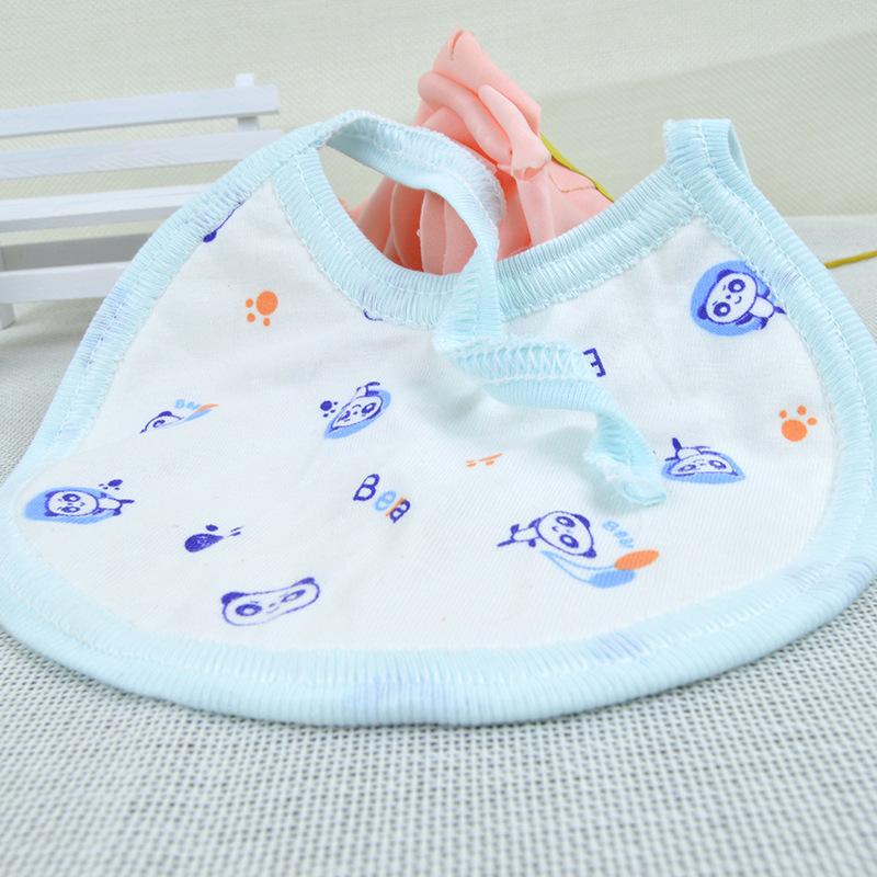 MIAOMUWA Thị trường đồ dùng mẹ và bé Nhà sản xuất bib tùy chỉnh hai mặt phim hoạt hình nước bọt khăn
