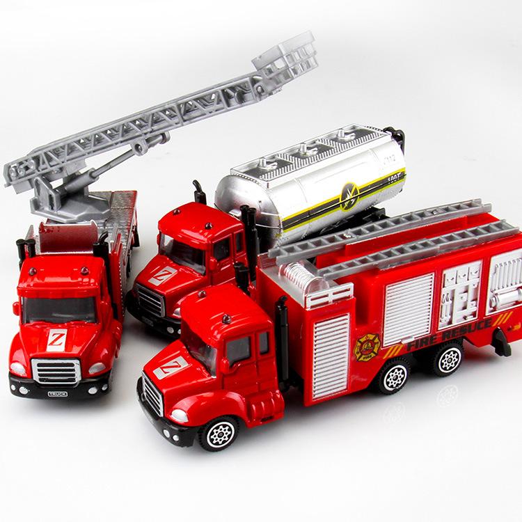Mô hình xe Trẻ em đồ chơi xe mô phỏng xe hợp kim xe máy xúc cậu bé mô hình đồ chơi bán buôn