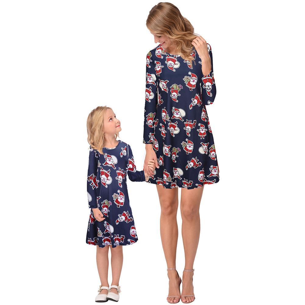 Thời Trang cho Gia đình : Đầm thun cotton cho mẹ và bé .
