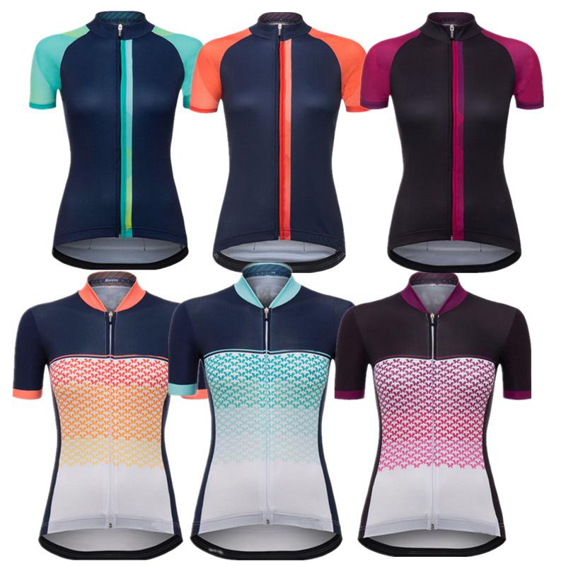 Trang phục xe đạp : Quần Áo Thun Ôm Thể Thao cho Nữ .