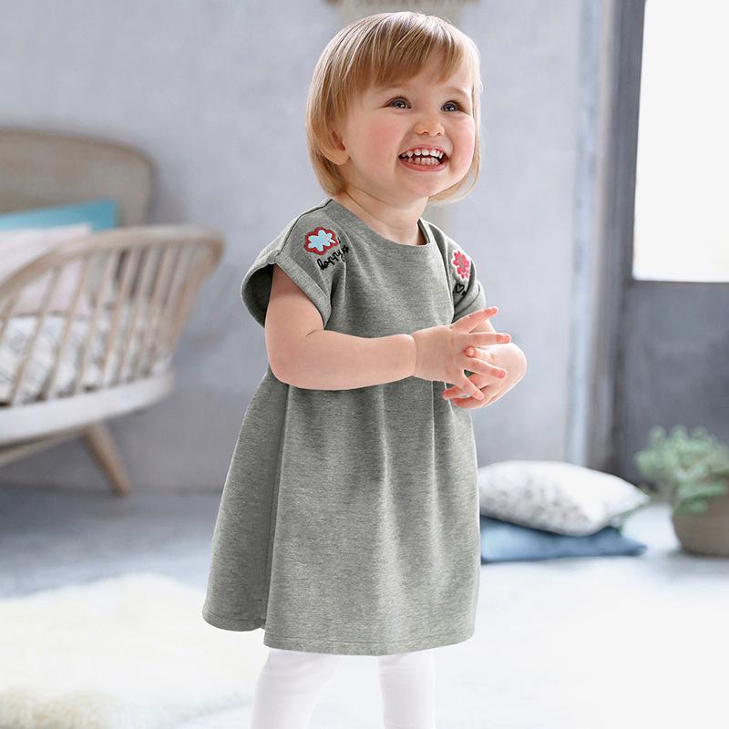Đầm Thun baby xòe dễ thương , dành cho bé gái .