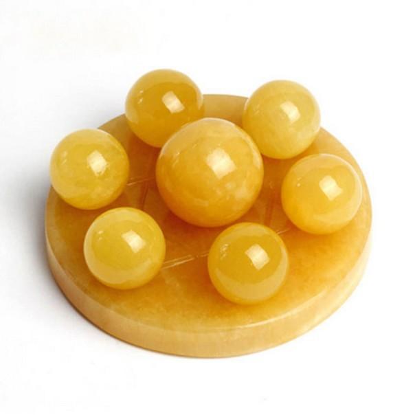 Jun Hao Đồ mỹ nghệ Kaiguang đá Topaz Lotus , kiểu Bảy sao Tập hợp, để phòng khách, Văn phòng  theo p