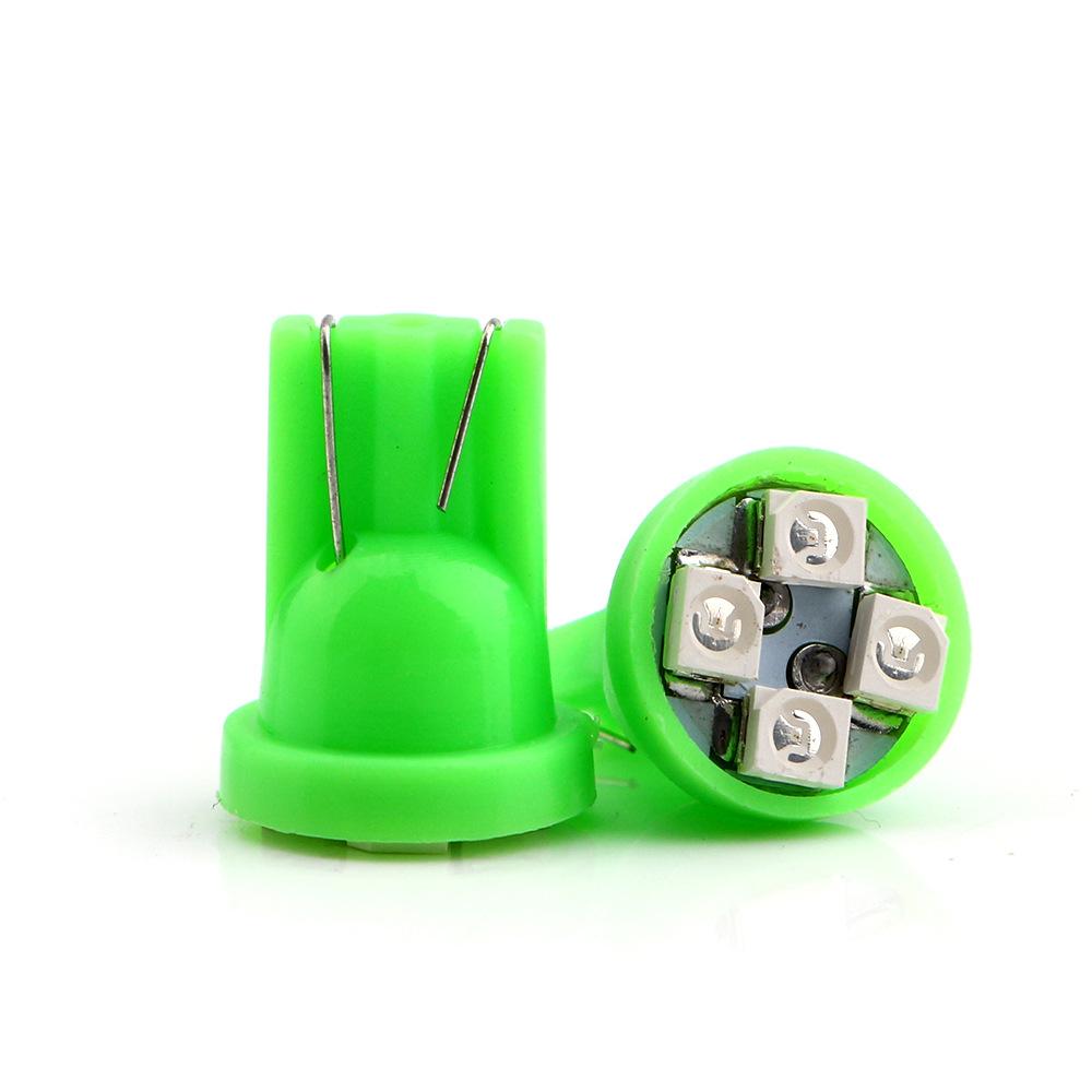 Bóng đèn xe T10 biển số đèn led đọc đèn xe T10 4SMD1210