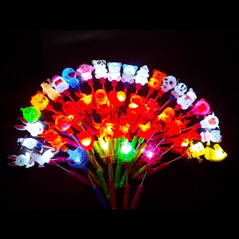 Đồ chơi phát sáng : cây đèn phát sáng hình thú dễ thương .