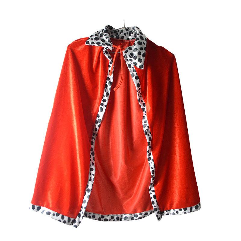 WWZF Áo choàng trẻ em Trang phục biểu diễn Halloween cho trẻ em Trang phục trò chơi hóa trang Vua cô