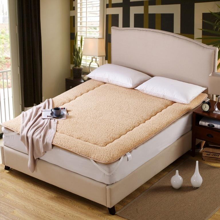 YISHIQIU Thị trường chất lượng sản phẩm Nệm nhung cừu có thể gập lại giường đệm dày