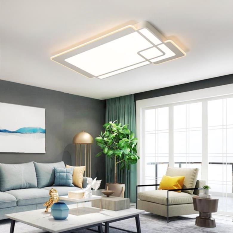 Đèn âm trần bộ Ngày những chiếc đèn lồng đèn hình chữ nhật 2018 hút đèn hướng dẫn phòng khách phòng