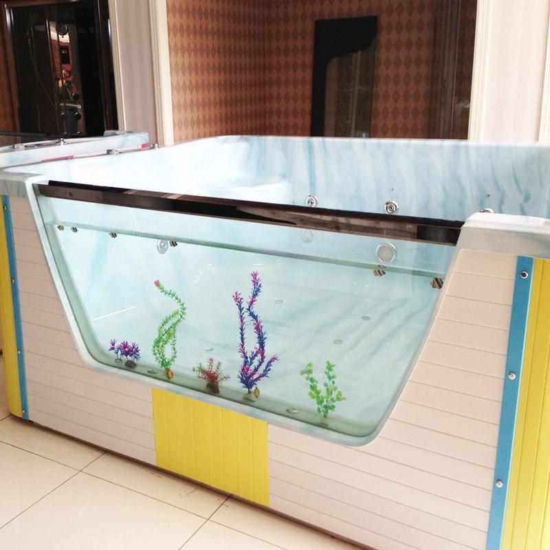 bể bơi trẻ sơ sinh Trong suốt bé Hồ bơi có thể chụp ảnh em bé bơi quán bể bơi trẻ em thiết bị
