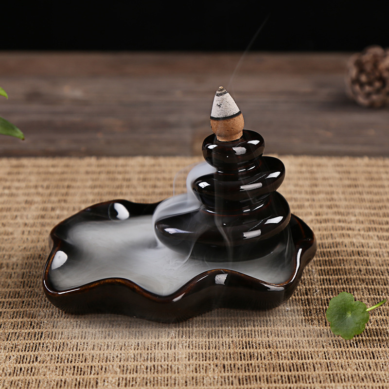 CHUANYEYAO Lư hương Nhang trầm hương gốm gốm hương lò thủ công