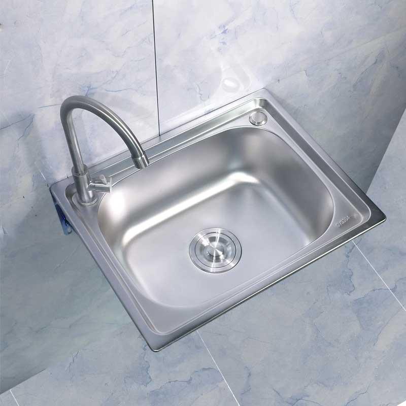 Vật dụng cho Nhà bếp : bồn rửa chén Đơn inox 5040