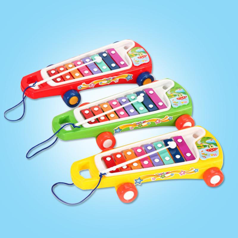Đồ chơi cho trẻ Em : Bộ đồ chơi đàn kéo piano bằng nhựa cho bé .