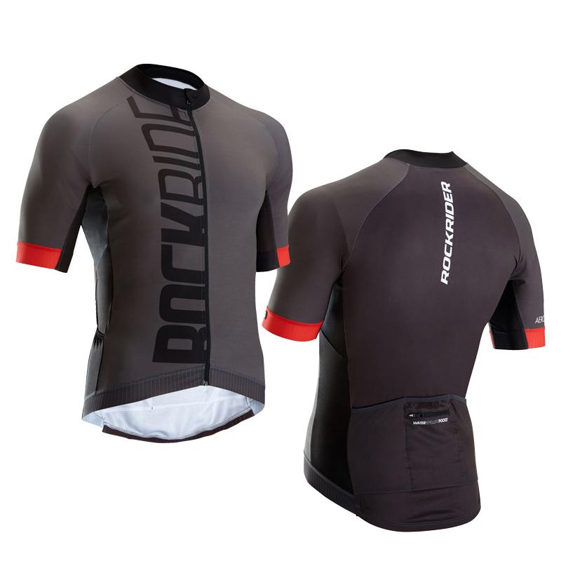 Trang phục Đua xe đạp : Áo thun tay ngắn co giãn dành cho nam .