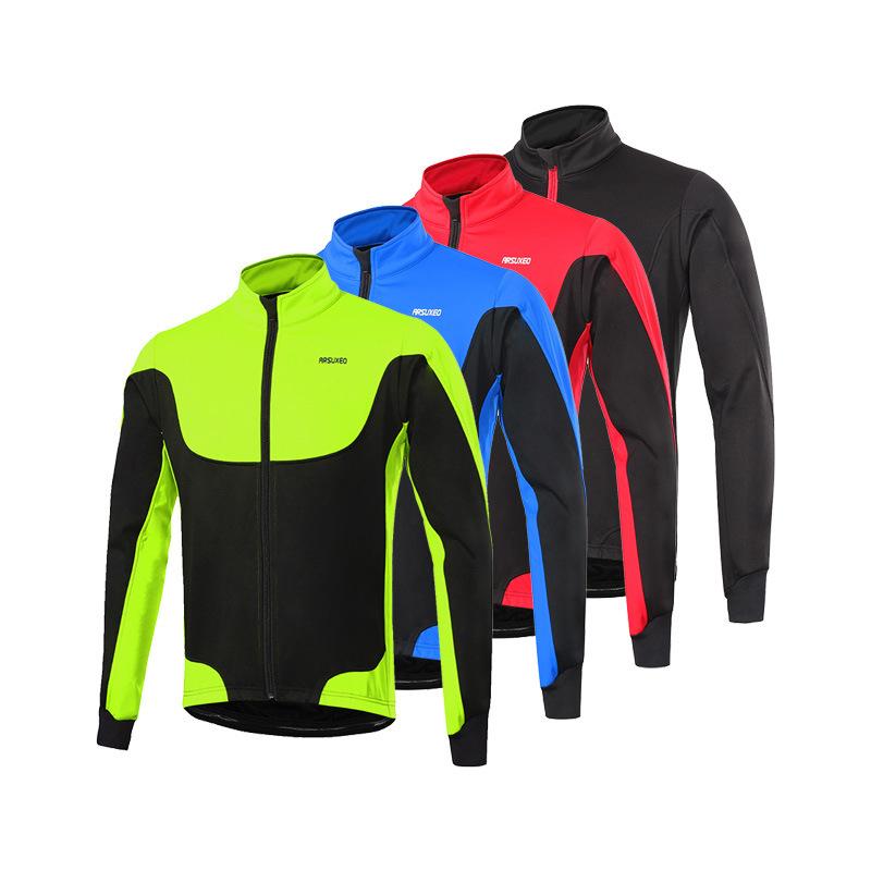 Trang phục Đua xe đạp : Áo Thun co giãn thể thao dành cho nam .