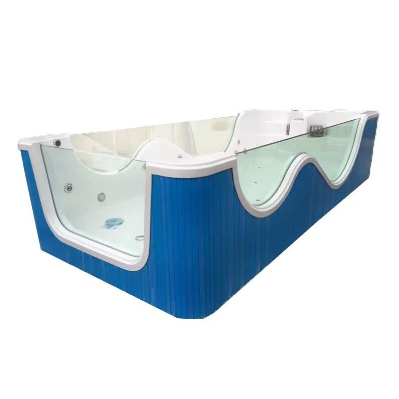 bể bơi trẻ sơ sinh Ba kính bơi trẻ em bồn tắm bé lướt sóng nhiệt. Một hồ bơi lớn lưu thông thương mạ