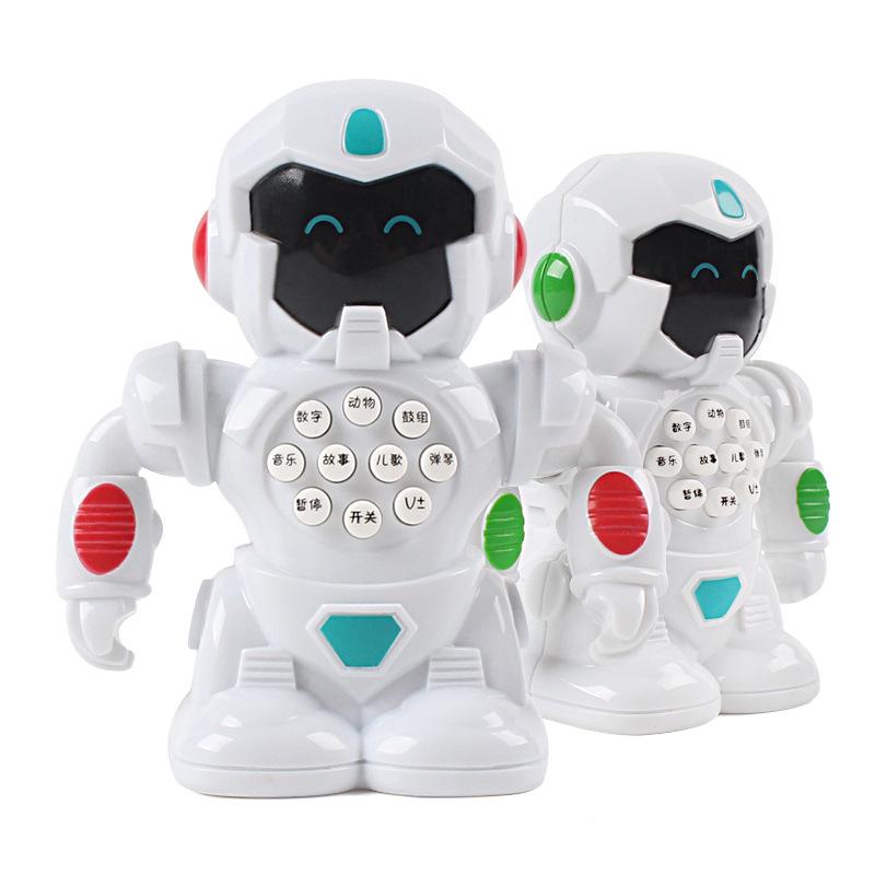 MEIYIJIA Rôbôt / Người máy Mỹ tỷ trẻ em giáo dục sớm câu đố thông minh câu chuyện máy robot 3-6 tuổi