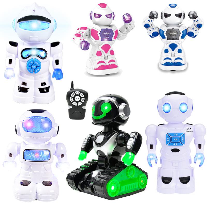 JINXIANGHUANG Rôbôt / Người máy Ngoại thương giáo dục trẻ em phổ quát robot đồ chơi điện điều khiển