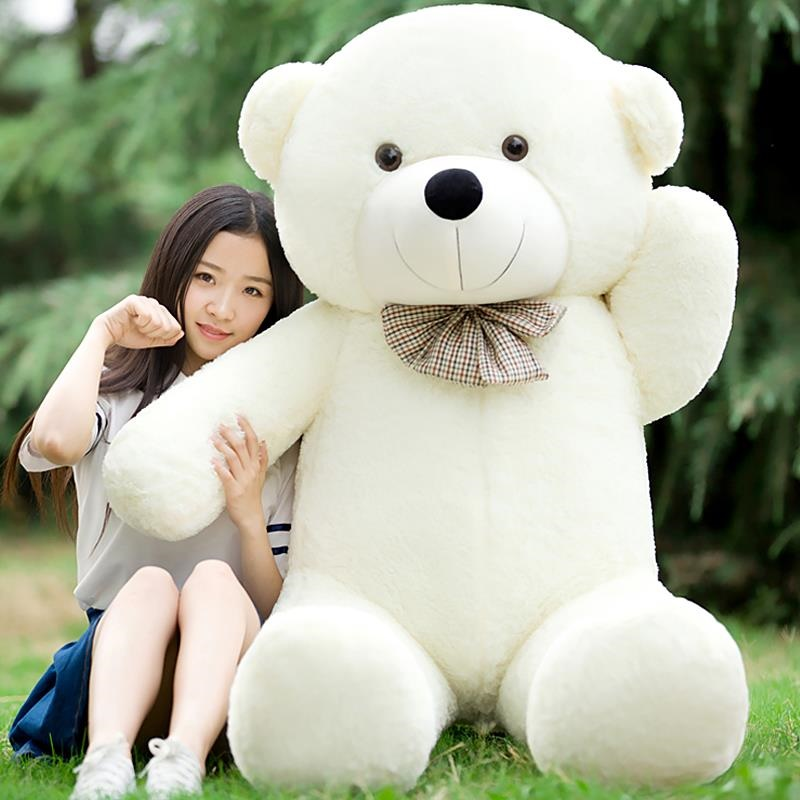 Búp bê vải tuba giường gấu ôm con gái đáng yêu dễ thương cháu bé gấu nhồi bông mang búp bê đồ giá rẻ