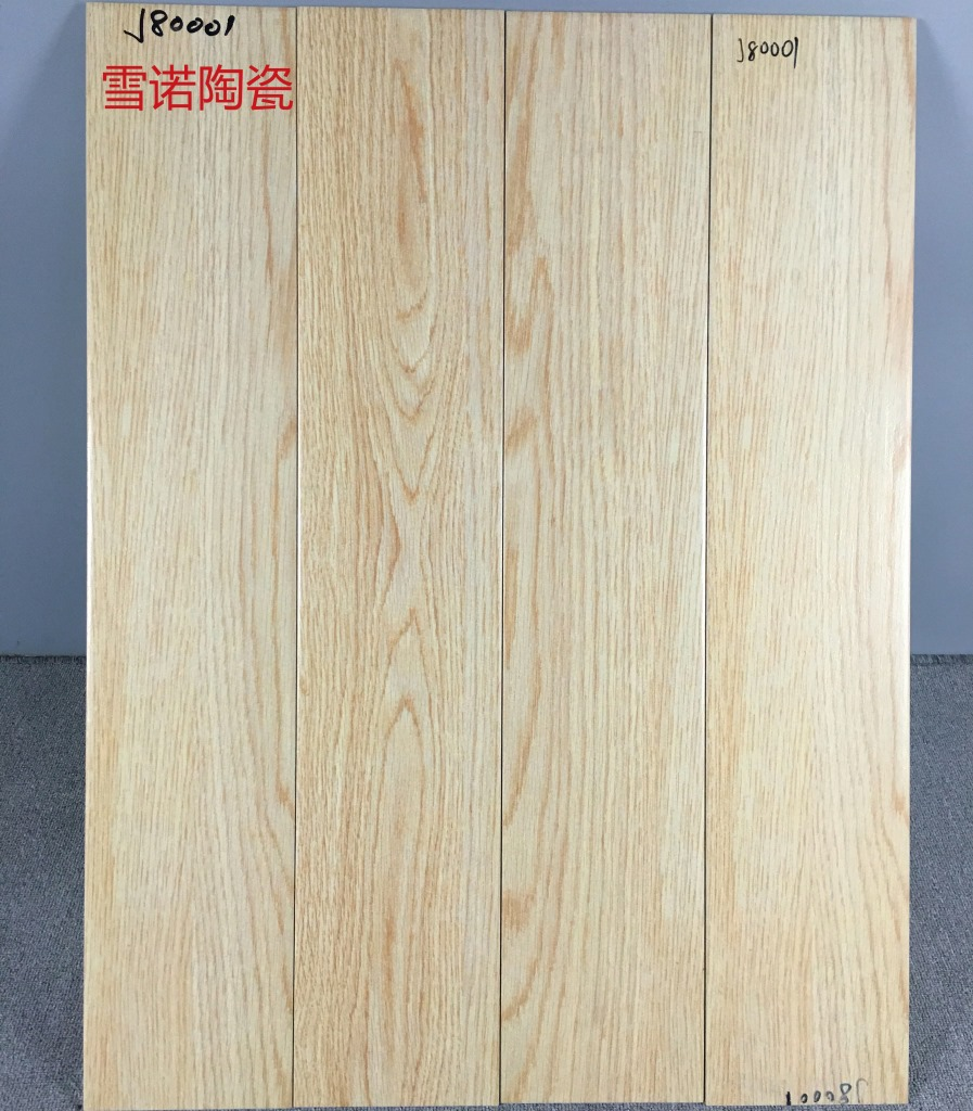 MEISHENG Gạch men sứ Nhà máy trực tiếp snowno gốm hạt gỗ gạch 150x800 chống trượt sàn gạch phòng khá