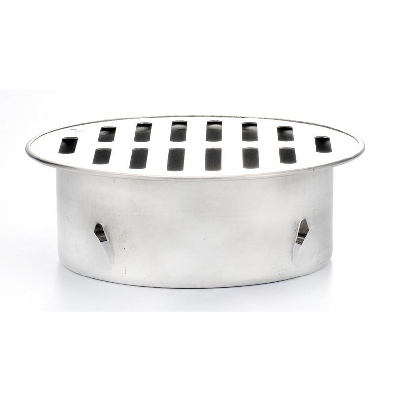 Máy hút mùi phòng tắm bằng thép không gỉ SUS304 cống tròn 10cm