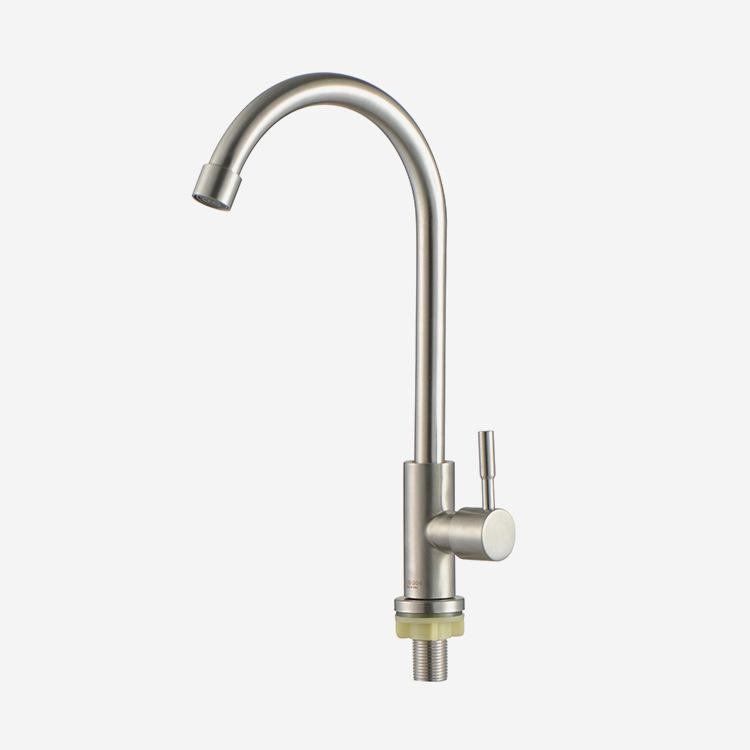 nhà sản xuất vòi nước thép không gỉ đơn cho nhà bếp