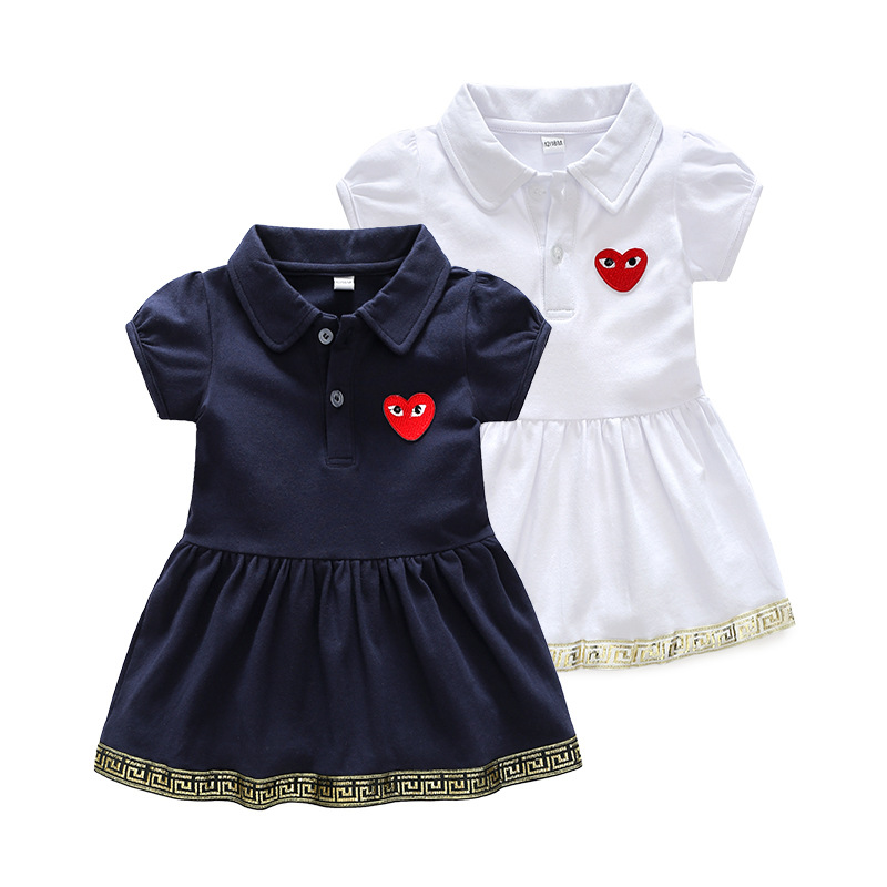 Đầm baby Thun dễ thương , dành cho bé gái .