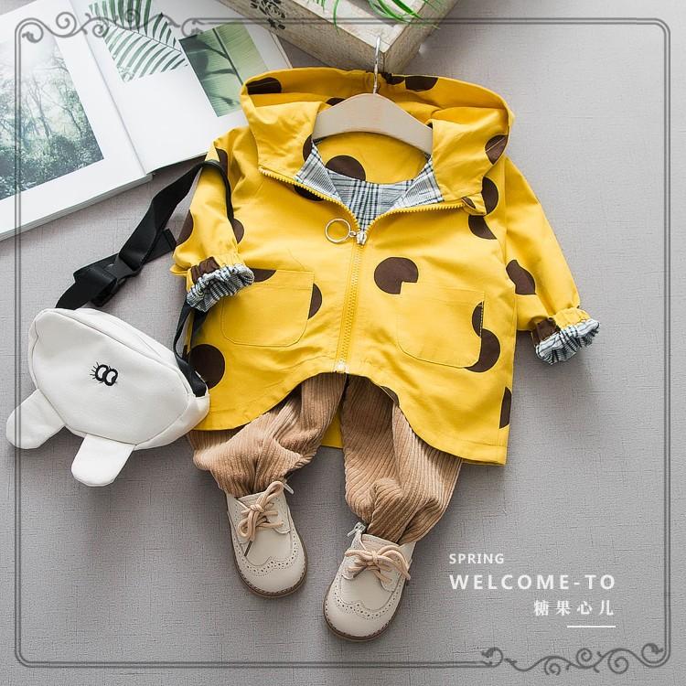 TGXE Áo khoác trẻ em Mùa xuân 2019 áo khoác trẻ em mới bán buôn Phiên bản Hàn Quốc của trẻ em chấm b